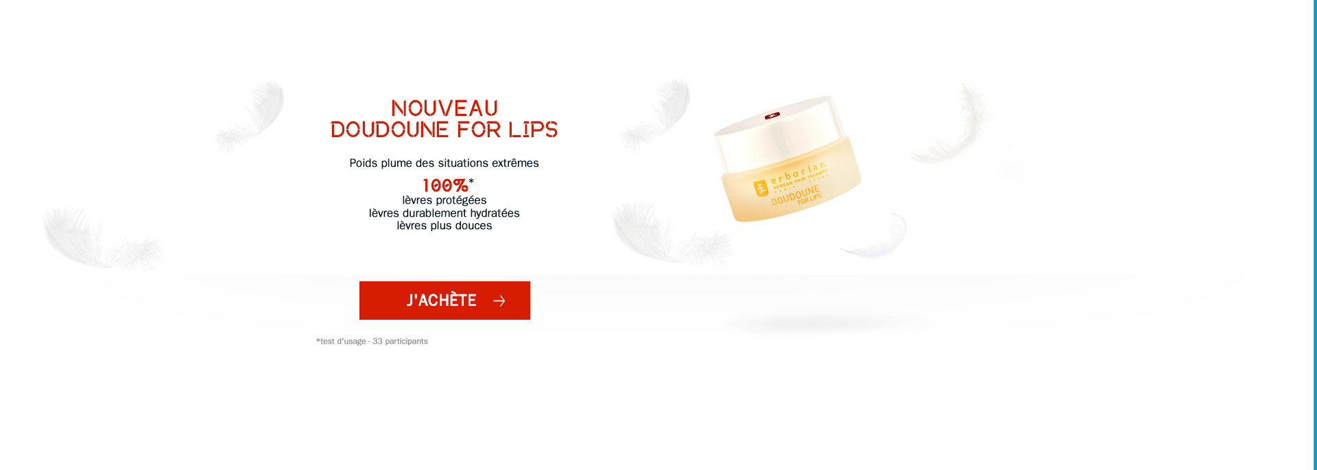 Doudoune for Lips - Erborian
